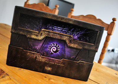 StarCraft II: Heart of the Swarm Collector's Edition pictures and hands-on