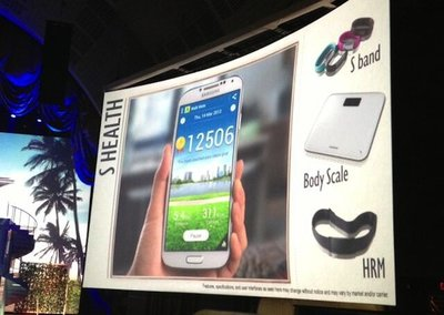 Samsung S Band takes on Nike FuelBand