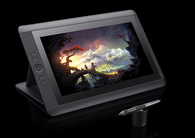 Wacom 13-inch Cintiq Full HD pen display, a drawing tablet for the serious artist