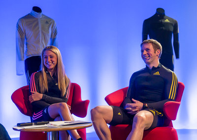 Laura Trott and Jason Kenny talk cycle tech, training, 'second skin' Adistar apparel and more