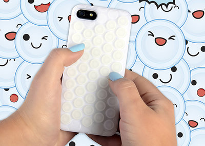 Thumbs Up's iPhone 5 Pop Case, for those with a bubble wrap fetish