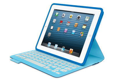 Logitech FabricSkin Keyboard Folio for iPad blends the keys into the cover for those willing to splash out