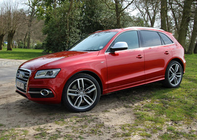 Audi SQ5 TDI pictures and hands-on