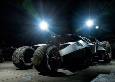 Batmobile to race in Gumball rally, team builds custom Batman Tumbler
