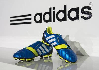 Adidas Nitrocharge football boots with miCoach pictures and hands-on