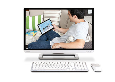 Toshiba takes on the iMac with Qosmio PX30t 23-inch touchscreen entertainment hub