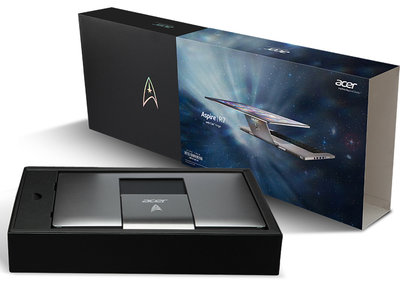 Acer Aspire R7 Star Trek edition to go up for auction, one of only 25 made