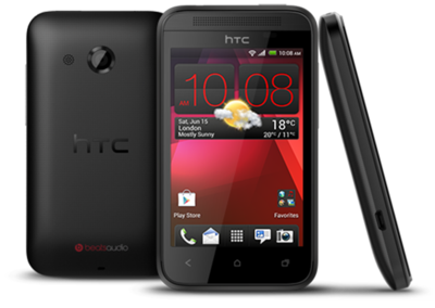 HTC Desire 200 now official: Tiny, cheap and cheerful