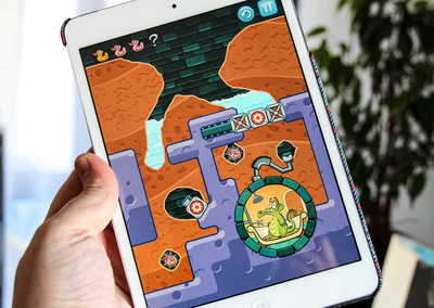 Some of the greatest iPad and iPhone apps now free: Tiny Wings, Where's My Water?, Badland and more