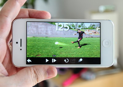Adidas Snapshot hits iPhone and iPod touch, track your footy shots with the help of Gareth Bale