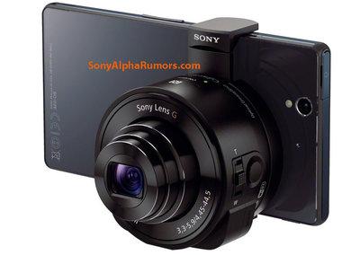 Leaked Sony 'Lens Cameras' manual illustrates DSC-QX10 and DSC-QX100