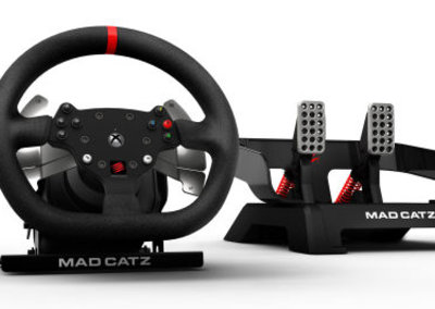 """Mad Catz debuts Force Feedback Racing Wheel for Xbox One, """"ideal"""" for Forza 5"""