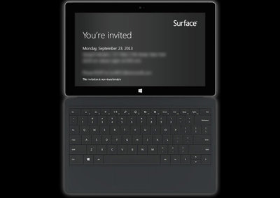 Microsoft to hold Surface launch event on 23 September in New York City