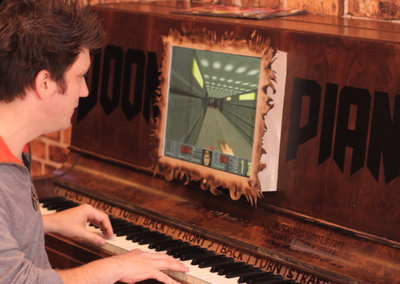 Doom Piano hands-on video: We play Doom. On a piano