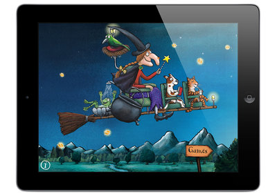Room on the Broom interactive game hits iPad, iPhone and Android in time for Halloween