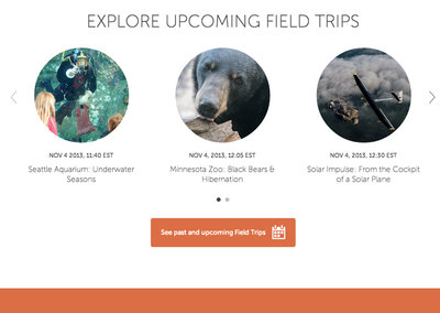 Google Connected Classroom offers virtual field trips from the classroom