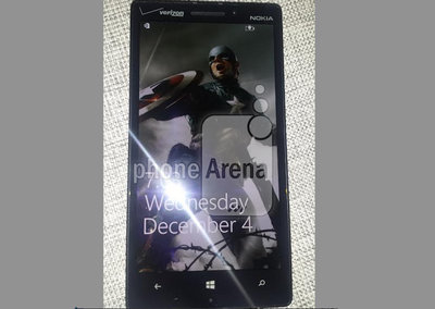 Nokia Lumia 929 photos leak with revealing GDR3 Glance screen shots