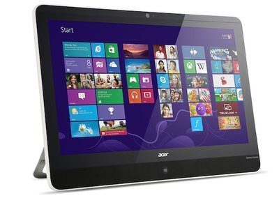 Acer Aspire Z3-600 is basically a powerful 21.5-inch tablet
