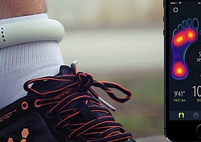 Heapsylon's bio-tracking Sensoria smart socks land Vivobarefoot shoes deal