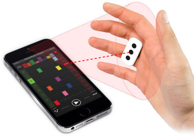 iRing gives you Kinect-style control over music creation on iPad, iPhone and iPod touch