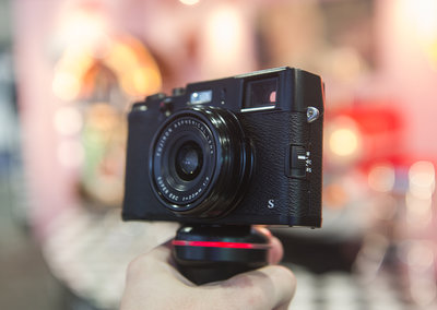 Fujifilm X100S Black pictures and hands-on