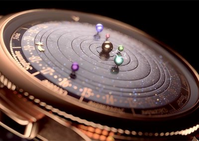 Van Cleef & Arpels' midnight planetarium watch could well be the most beautiful ever created