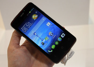 Hands on: Acer Liquid Z4 review
