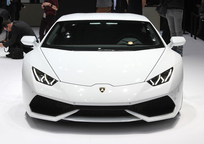Lamborghini Huracan pictures and hands-on