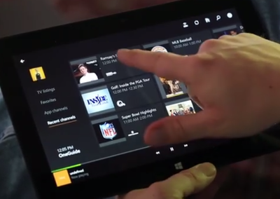 Microsoft Xbox One update for TV tries DVR control and OneGuide on SmartGlass
