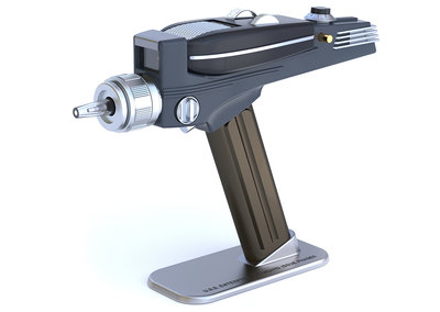 Star Trek fans rejoice, now you can shoot your TV with the Star Trek Phaser Universal Remote Control