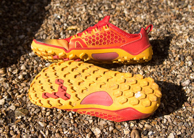 First run: Vivobarefoot Trail Freak running shoes