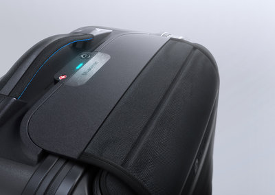 Bluesmart suitcase weighs your kit, locks digitally, charges your phone and can be tracked