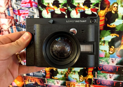 Lomography Lomo'Instant hands-on: Instant film camera gets retro makeover