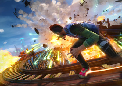 Xbox Live Gold members can play Sunset Overdrive on Xbox One for free all day Saturday