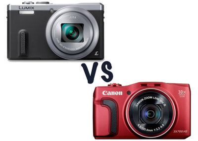 Panasonic Lumix TZ60 vs Canon PowerShot SX700 HS: What's the difference?