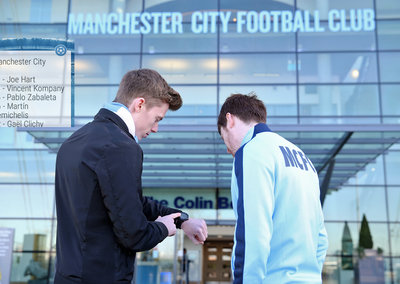 Man City pioneers Android Wear apps for football updates on your wrist