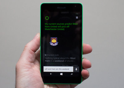 You shouldn't bet on Cortana, just yet
