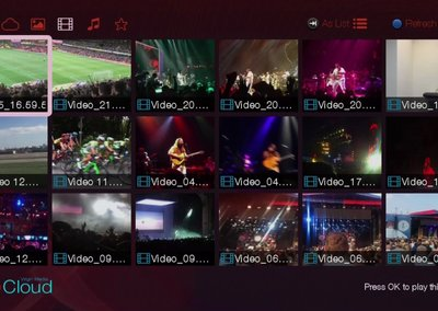 Now you can look at your cloud photos on your Virgin Media TiVo box