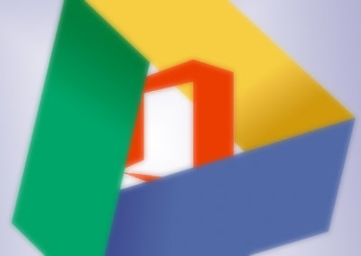 There's now a Google Drive plugin for Microsoft Office in Windows