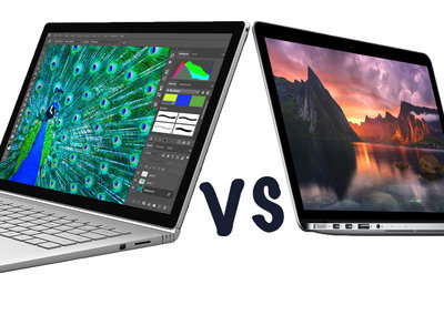 Microsoft Surface Book vs Apple MacBook Pro with Retina display: What's the difference?