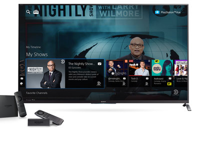 What is Sony PlayStation Vue and where is it available?