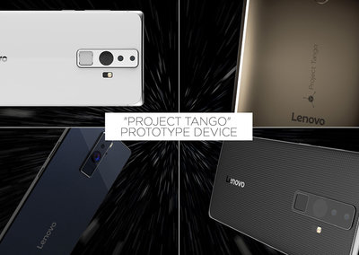 Project Tango hits smartphones, Lenovo and Google announce 3D scanning handset