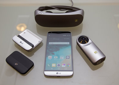 LG G5 and Friends is an explosion of fun: Smartphone, 360 camera, VR headset and more
