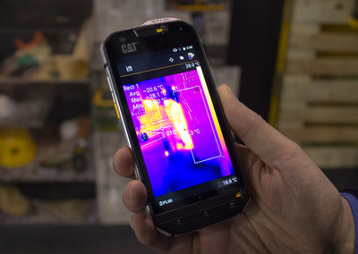 Cat S60 preview: Heat vision, Android 6.0 and can take an underwater beating