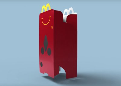 McDonald's turned its Happy Meal Box into a Cardboard-like VR headset