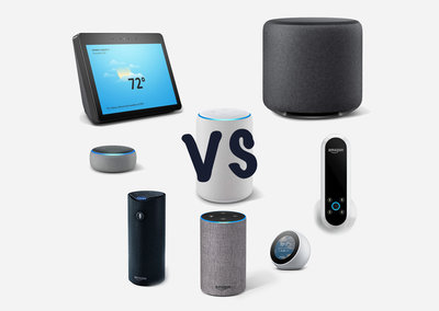 Amazon Echo vs Plus vs Studio vs Dot vs Show vs Spot: Was ist der Unterschied?
