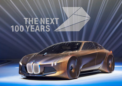 BMW Vision Next 100: The ultimate driving machine of the future