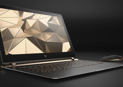 New HP Spectre 13.3 laptop is thin, AAA battery thin