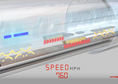 Hyperloop passive magnetic levitation system will help pods hit 760mph