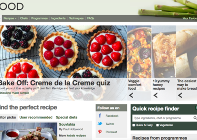 BBC Food website faces the chop, as BBC trims the fat
